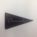 Čokoládová dekorace trojúhelník cheesecake
