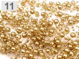 Perličky na silon zlaté ii