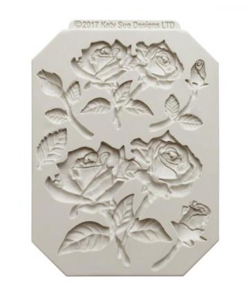 Silikonová forma motiv růže