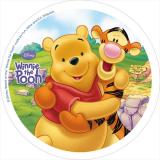 Jedlý papír medvídek pú 7