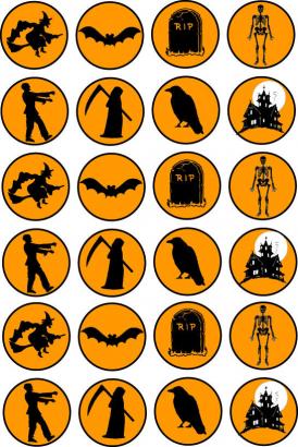 Halloween strašidla  2
