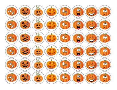 Jedlý papír - halloween dýně  i