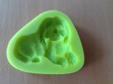 Silikonová formička pes