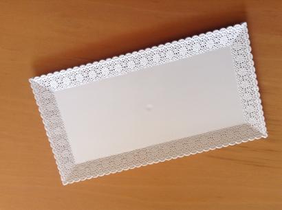 Podnos obdelníkový  30 x 16 cm
