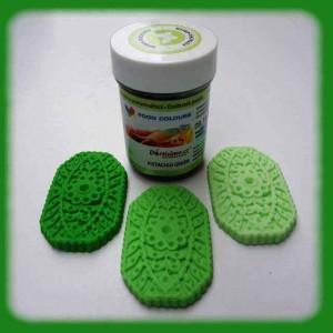 Gelová barva pistachio green - pistáciová zelená