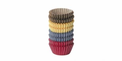Papírové košíčky malé barevné mix 200 ks