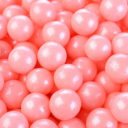Cukrové perly růžové  60 g