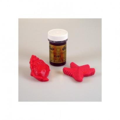 Sugarflair barva gelová ruby