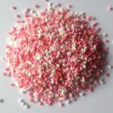 Cukrová srdíčka trojbarevná 3d