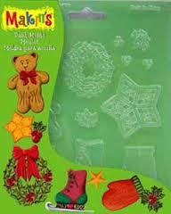 Plastová forma vánoční motivy