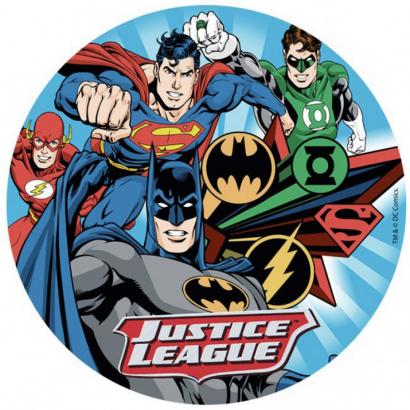 Jedlý papír justice league - liga spravedlnosti