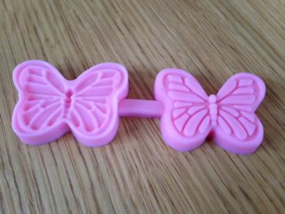 Silikonová forma motýlek