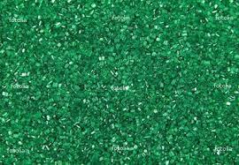 Cukrářské zdobení cukr zelený třpyt