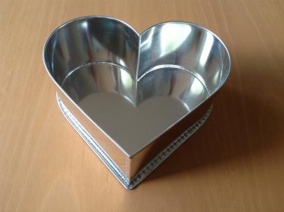 Dortová forma srdce velké  32,5 cm