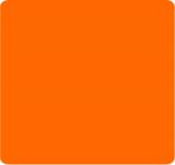 Gelová barva oranžová azo free