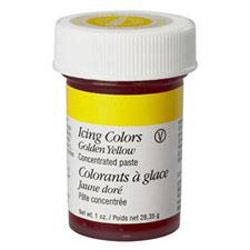 Barva gelová zlatavě žlutá wilton