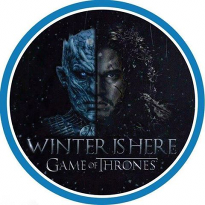 Jedlý papír hra o trůny - game of thrones 5