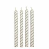 Svíčky dortové bílé  24 ks