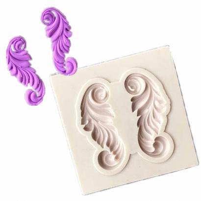 Silikonová forma ornament ii