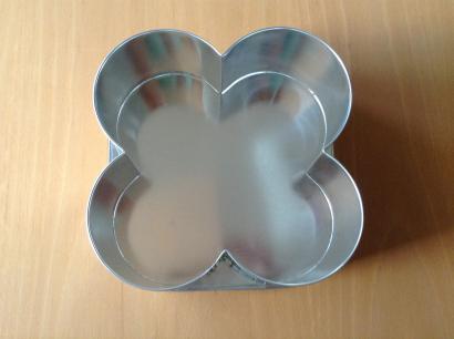 Dortová forma čtyřlístek 21 cm
