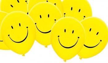 Balonky žluté smajlíci