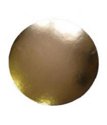 Podložka dortová zlatá 28 cm