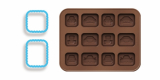 Formička na čokoládu auta