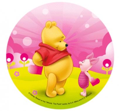Jedlý papír medvídek pú 9