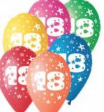 Balonek  30 cm číslo  18