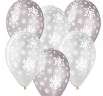 Balonek vločky  1 ks