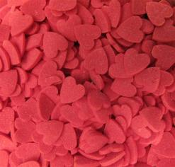 Srdíčka červená cukrová