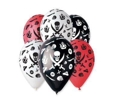 Pirátské balonky 5 ks