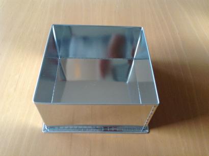 Dortová forma čtverec  25 x 25 cm