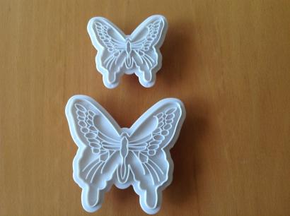 Vykrajovače motýl  2 ks