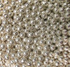 Stříbrné kuličky i