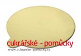 Zlatá podložka minidezert kruh 8 cm