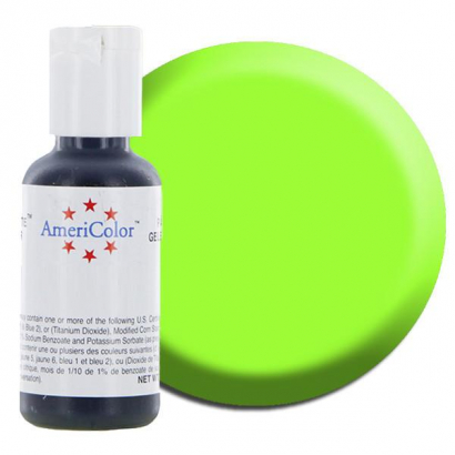 Electric green americolor soft gel paste