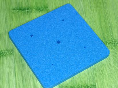 Tvarovací pěnová podložka modrá