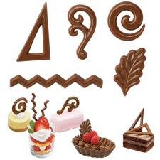 Forma - filigránky čokoládové