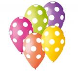 Barevné balonky puntík