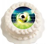 Jedlý papír míč - fotbal
