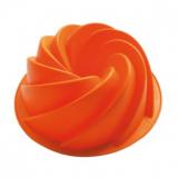 Silikonová forma na bábovku flower