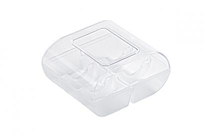 Plastová krabička na makronky  6 ks