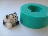 Silikonová forma kočka
