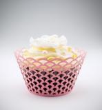 Košíčky na cupcakes  12 ks  růžové - obloučky