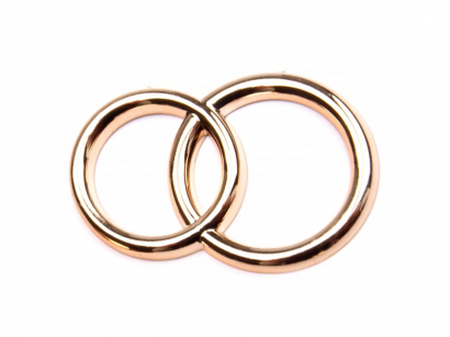 Prsteny zlaté  spojené