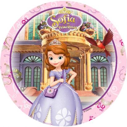 Jedlý  papír  princezna sofie 2