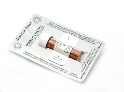 Barva prachová perleťová copper sheen