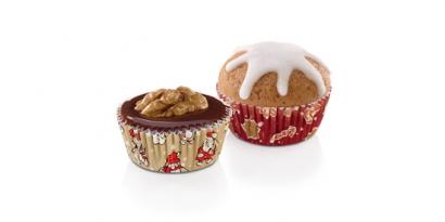 Cukrářské košíčky  100 ks  vánoční ii