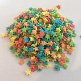 Cukrové barevné hvězdičky